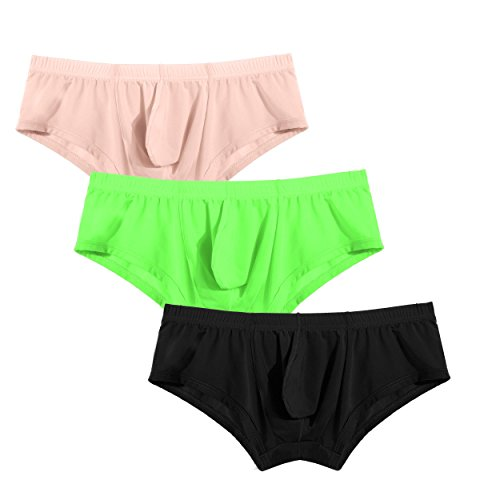 Avidlove Men's Underwear Bikinis 3 Pack Sexy Briefs
