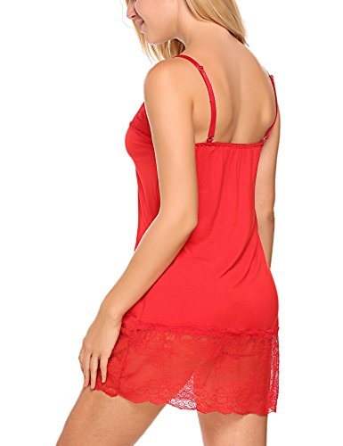 Avidlove Women Full Slip Lingerie Sexy Chemises Sleep Dress