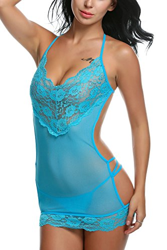 Avidlove Sexy Lingerie Lace Babydolll Lady's Nightwear Chemise