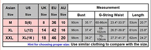 Avidlove Sexy Lingerie Lace Babydolll Lady's Nightwear Chemise with G-String