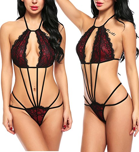 Avidlove Sexy Lace Bra and Panty for Women Babydoll