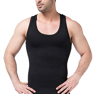 Avidlove Men's Tank Tops Buckles Underwear Slimming Body Shaper Vest Shirt