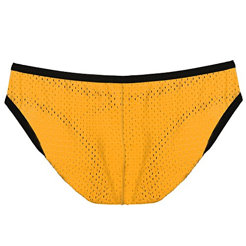 Avidlove Men Underwear Underpants Mesh Ventilate Briefs 6 Packs Bikinis