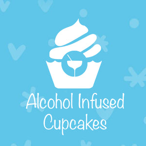 Alcohol Infused Cupcakes:  Mini or Standard Size