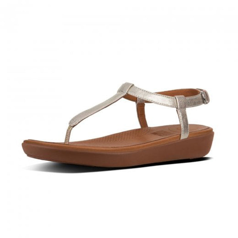 finest selection ffb9e 04863 FITFLOP SILVER SANDAL TIA THONG