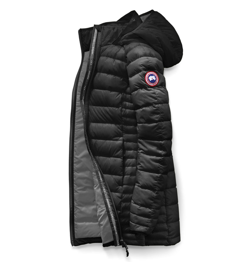 CANADA GOOSE BROOKVALE WOMENS  LIGHT HOODED DOWN JACKET