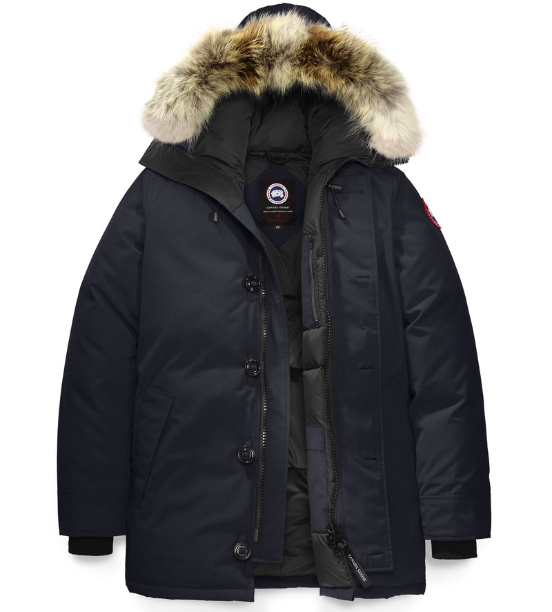 CANADA GOOSE MENS CHATEAU PARKA IN MILITARY GREEN