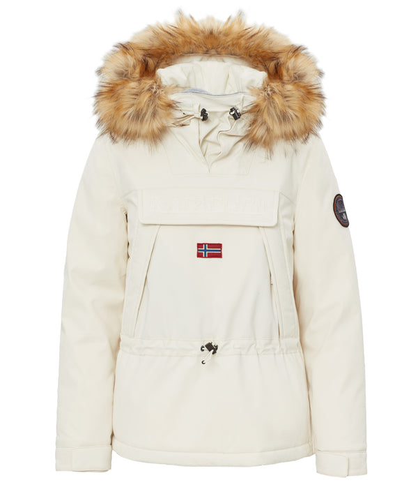 NAPAPIJRI WOMENS SKIDOO WITH FAUX FUR
