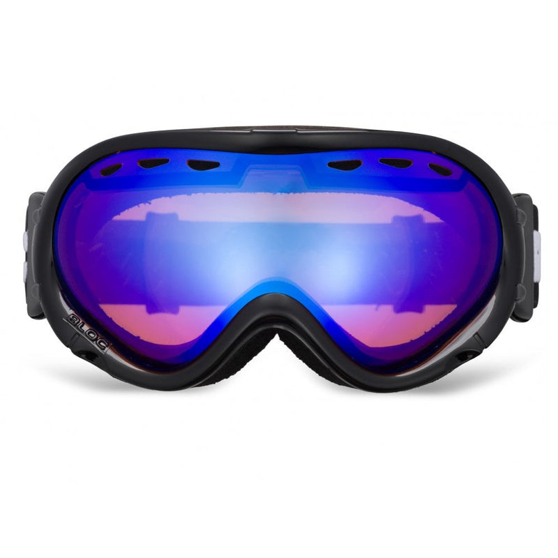 BLOC SKI GOGGLE WHICH ALLOWS GLASSES TO BE WORN UNDERNEATH