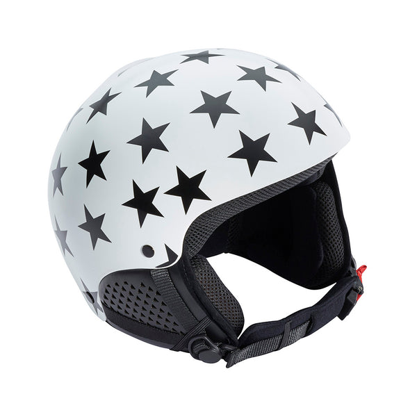 DENERIAZ WOMENS TORINO SKI HELMET WITH STAR DESIGN