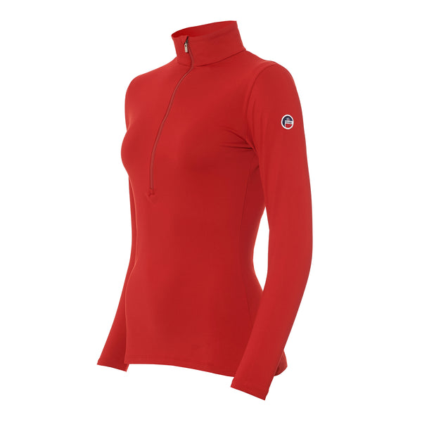 FUSALP WOMENS GEMINI SHORT ZIP SKI TOP