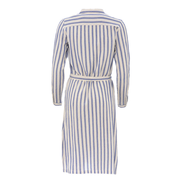 HARTFORD WOMENS STRIPED SHIRT DRESS