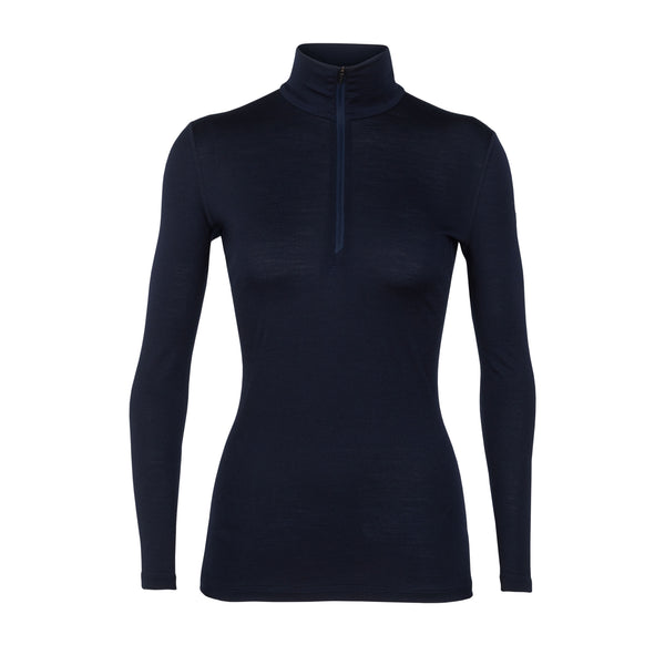 ICEBREAKER WOMEN'S OASIS HALF ZIP BASE LAYER