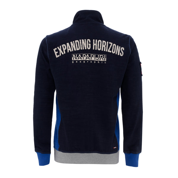 NAPAPIJRI MENS SWEATSHIRT NAVY