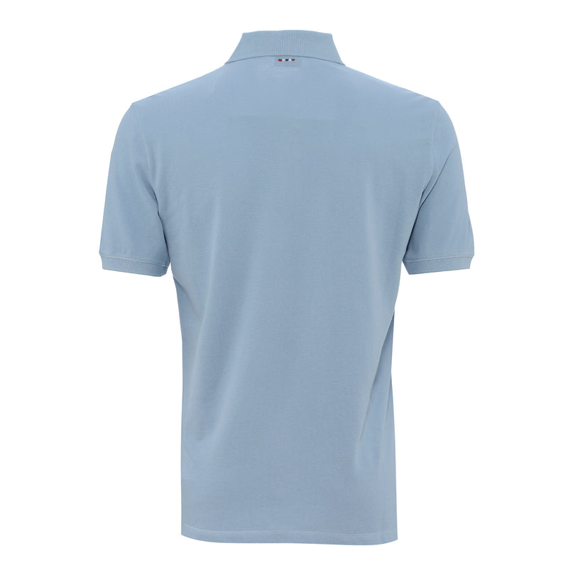 NAPAPIJRI MENS POLO SHIRT DUSKY BLUE