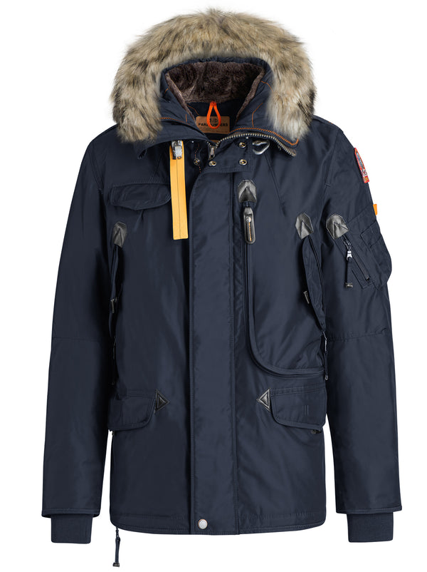 PARAJUMPERS MENS RIGHT HAND MAN JACKET IN NAVY