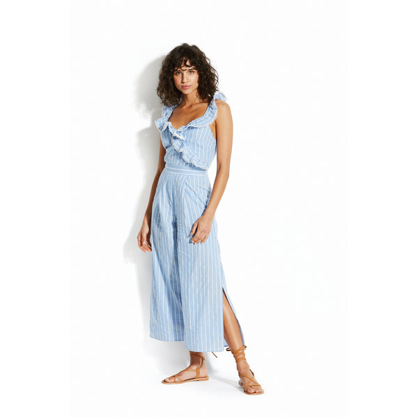 SEAFOLLY JUMPSUIT WITH RUFFLES