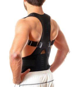 Magnetic Therapy Posture Corrector - Fully Adjustable Back Brace For Posture