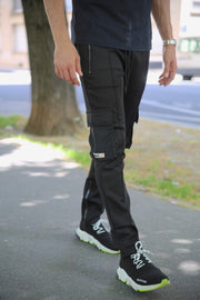 CARGO Trackpants FULL BLACK