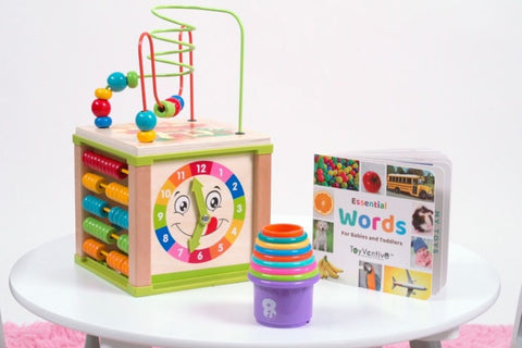 2 year old activity cube