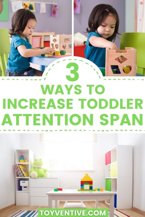 3 ways to increase toddler attention span