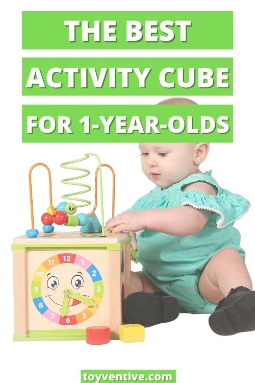Best wooden activity cube for 1 year old