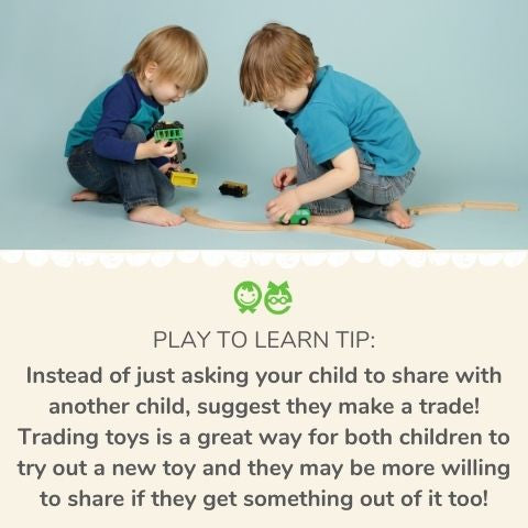 Friendship and sharing activities for toddlers