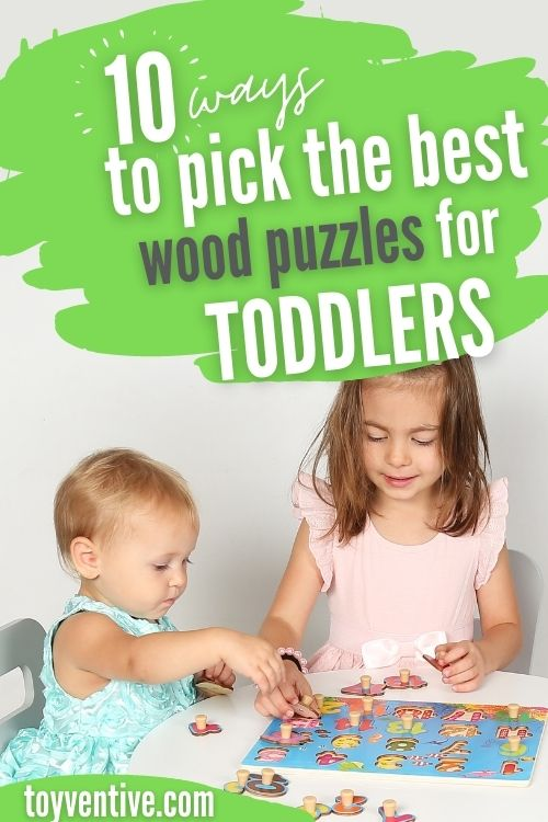 How to pick the best toddler puzzles