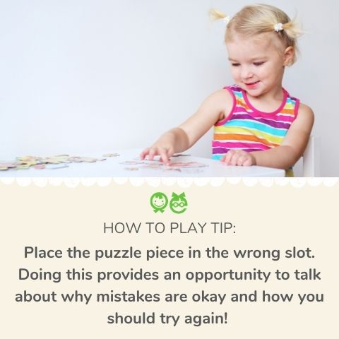 How to teach toddler peg puzzles