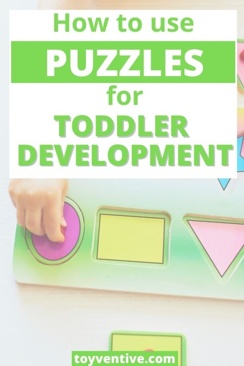 how to use puzzles for toddler development