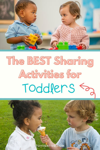 Sharing and turn taking activities for toddlers