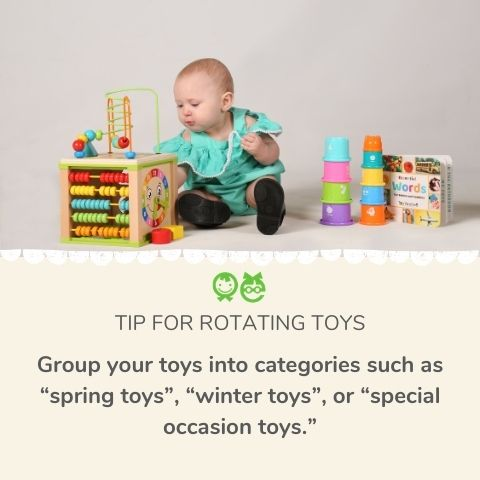 Tips on purging toys