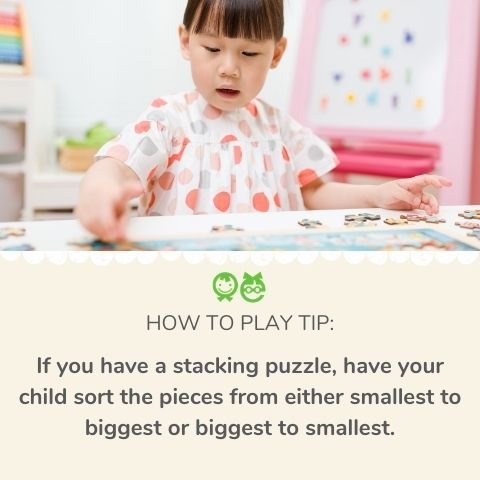 Why are puzzles good for toddlers
