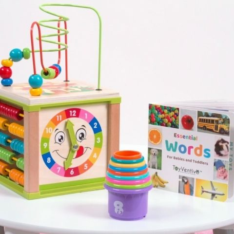 activity cube for baby