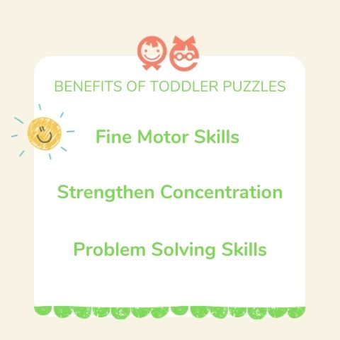 benefits of toddler puzzles