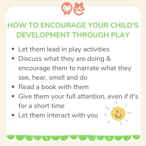 how to encourage your child's development through play