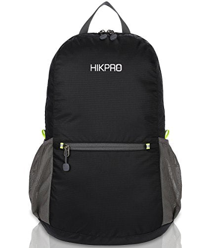 Amazon.com : HIKPRO 20L - The Most Durable Lightweight Packable Backpack, Water Resistant Travel Hiking Daypack for Men & Women : Sports & Outdoors