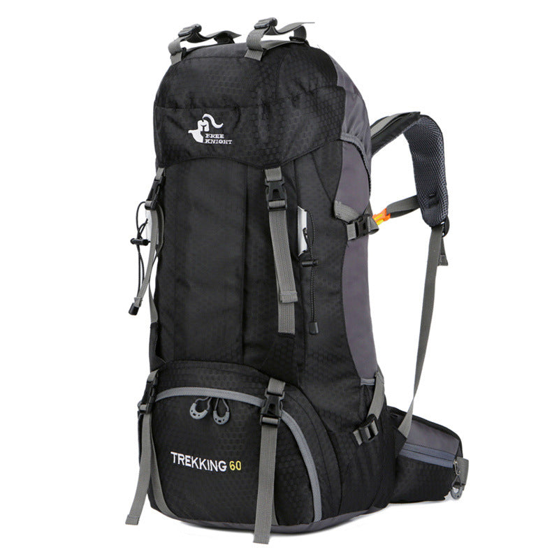 60L Hiking Backpack (Black)