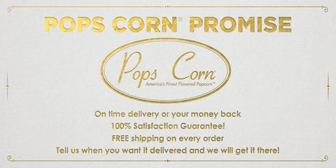 Pops Corn | Americas Finest Flavored Popcorn