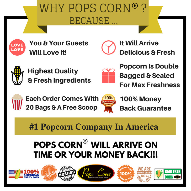 #1 Popcorn Company in America. Gourmet popcorn in Fort Lauderdale and Pembroke Pines, Florida