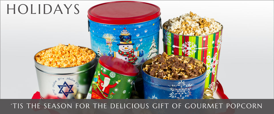 Gourmet Popcorn Holiday Pops Corn | Gourmet Popcorn in Fort Lauderdale and Pembroke Pines, Florida