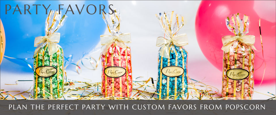 Gourmet Popcorn Party Favors | Gourmet Popcorn in Fort Lauderdale and Pembroke Pines, Florida