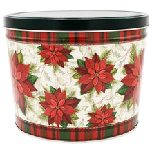 Load image into Gallery viewer, 2 Gallon Poinsettias Father's Day Tins vendor-unknown