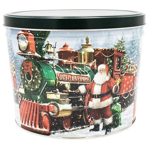 2 Gallon Santa Express Father's Day Tins vendor-unknown