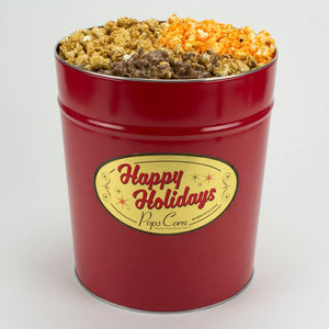 Pops Corn Happy Holidays