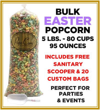 Load image into Gallery viewer, Easter Popcorn Pops Bulk Popcorn Bags. Made fresh to order! ?✔ Pops Corn