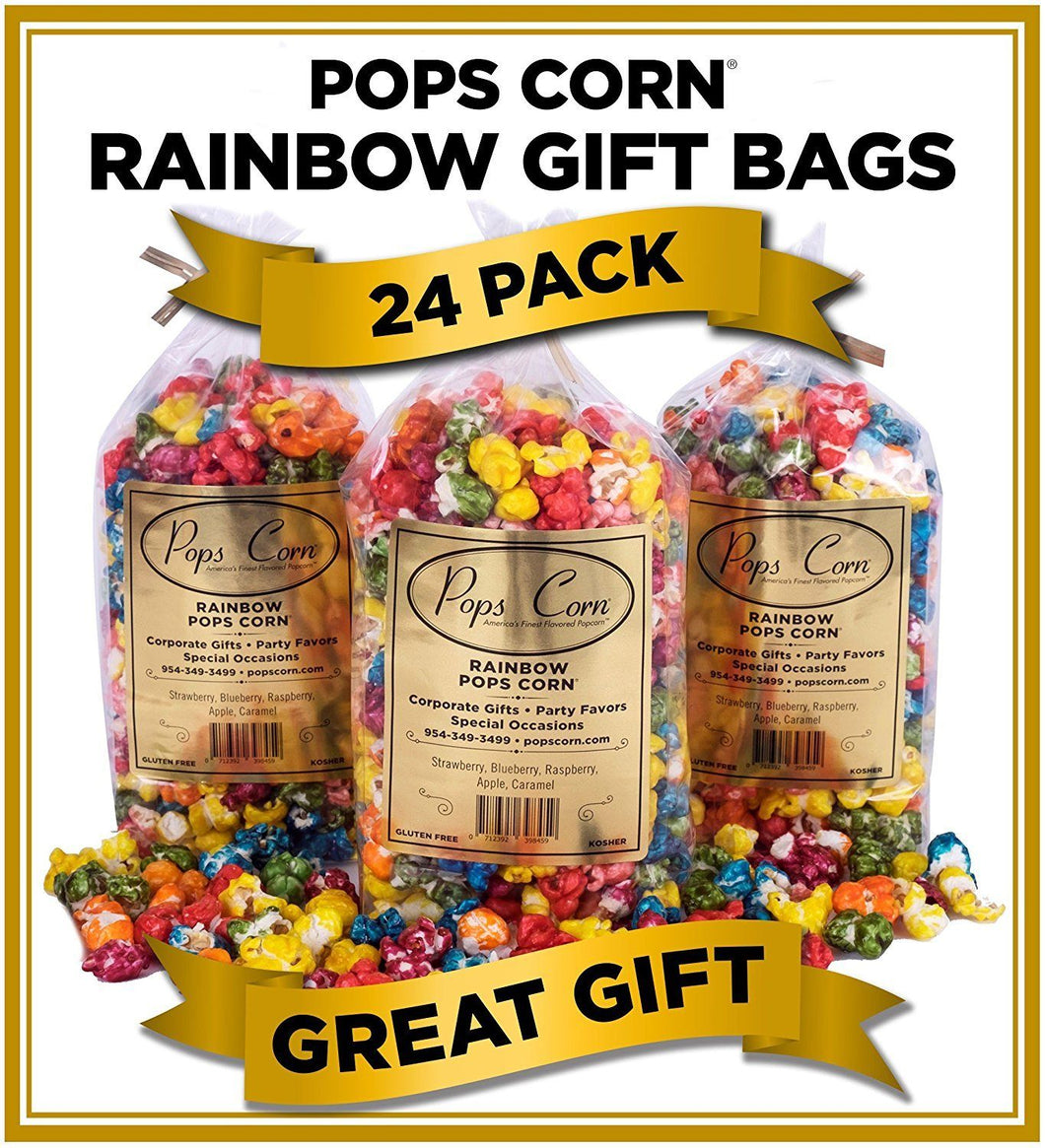 24 Pack -Rainbow Bags Party Favor vendor-unknown