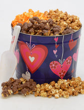 Load image into Gallery viewer, Two Gallon Hearts Tin-FREE SHIPPING Valentine's Day Tins Pops Corn Default Title