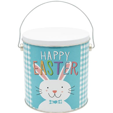 1 Gallon Happy Easter-Free Shipping Signature Tins Pops Corn
