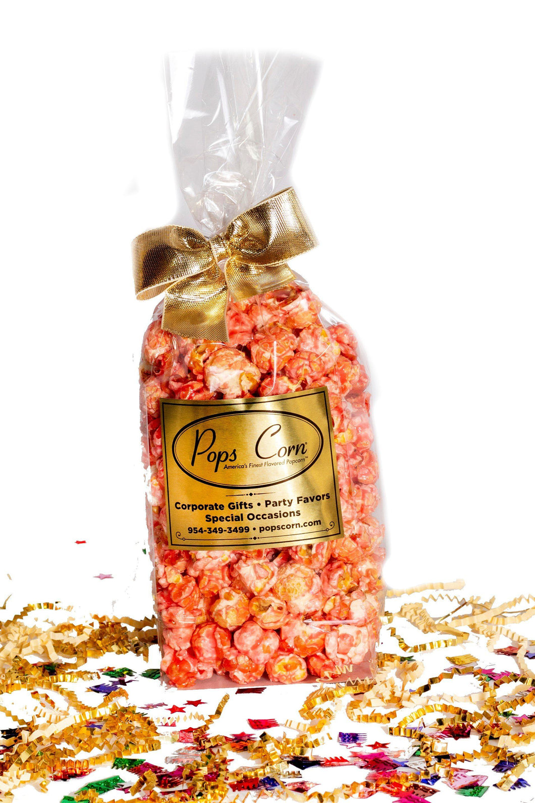 Gourmet Pink Popcorn Party Favor New vendor-unknown